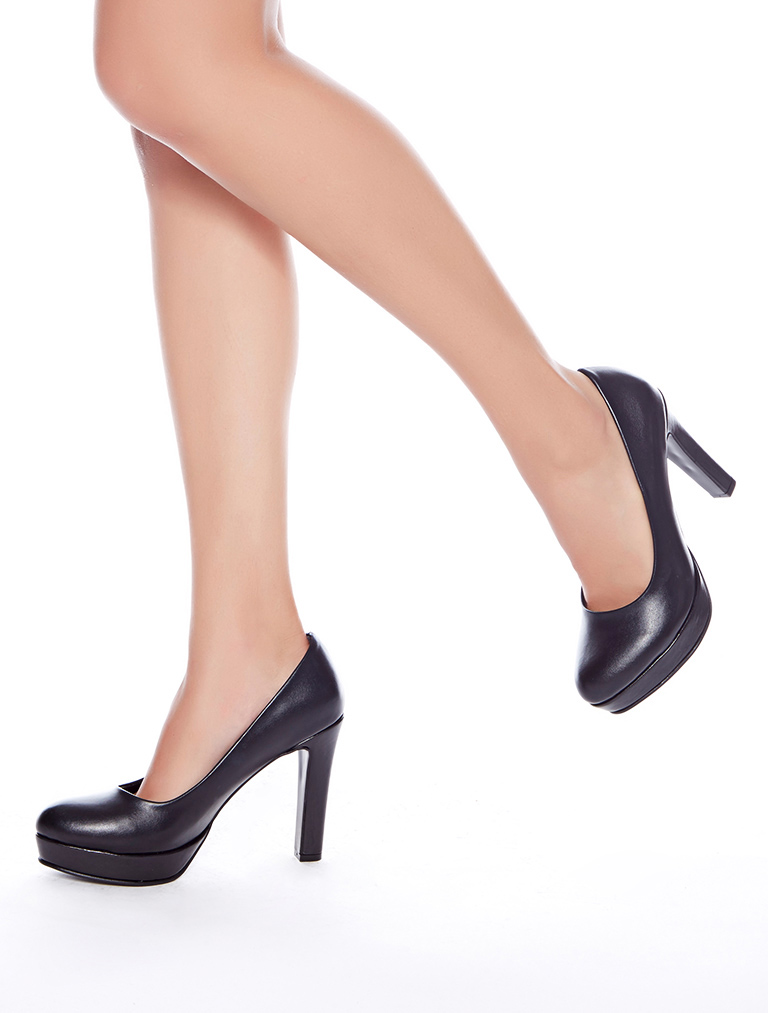 PLATFORM TOPUKLU Lisa Siyah Platform Topuklu