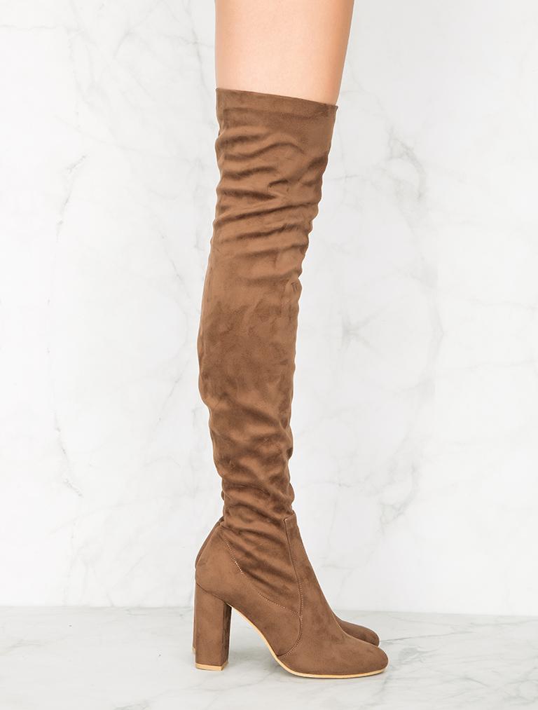 ÇİZME London Kahverengi Çorap Çizme