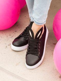 Bunny Siyah Spor Ayakkabı
