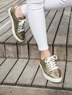 Gabby Petek Altın Spor Ayakkabı