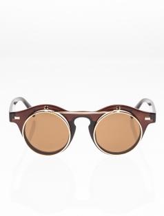 Two Face Retro Güneş Gözlüğü