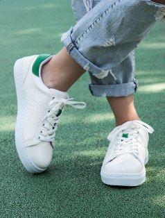 Gabby Beyaz Yeşil Kombin Spor Ayakkabı