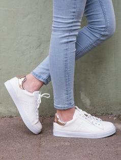 Gabby Beyaz Rose Gold Kombin Spor Ayakkabı