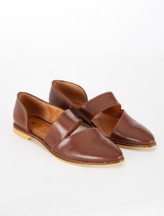 Gray Taba Dekolte Loafer
