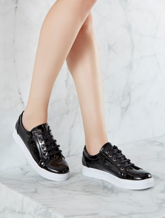 Gabby Siyah Rugan Spor Ayakkabı