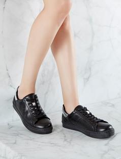 Gabby Siyah Gümüş Kombin Spor Ayakkabı