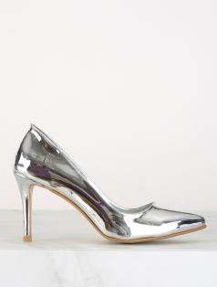 Leila Gümüş Ayna Dekolte Stiletto
