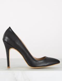 Madam Siyah Dekolte Stiletto