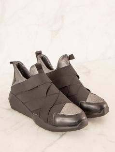 Eshe Siyah Spor Ayakkabı