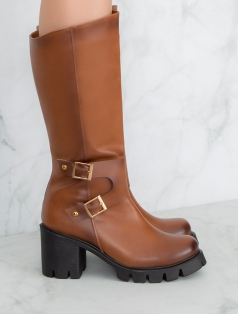 Tran Taba Çift Toka Detaylı Çizme