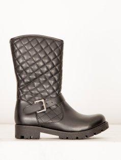Powel Siyah Kapitone Çizme