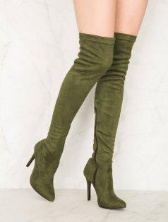 Britney Haki Uzun Çorap Çizme