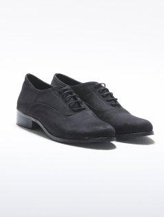 American Siyah Süet Loafer Ayakkabı